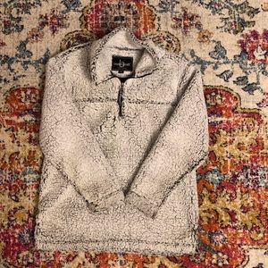 Sweaters - Sherpa Sweater black/white - small